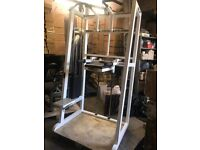 Powersport Assisted Chin & Dip Machine - Weights Gym Pull Up