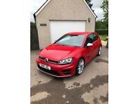Volkswagon Golf R 3dr Red FSH