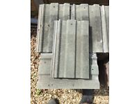 Redland 49 green roof tiles , used, good condition.