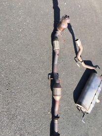 Corsa D VXR full standard exhaust system.