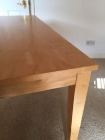 As new table and 4 chairs