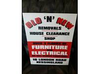 WANTED house clearances / flats / sheds