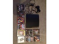 PS3, one controller and 10 games