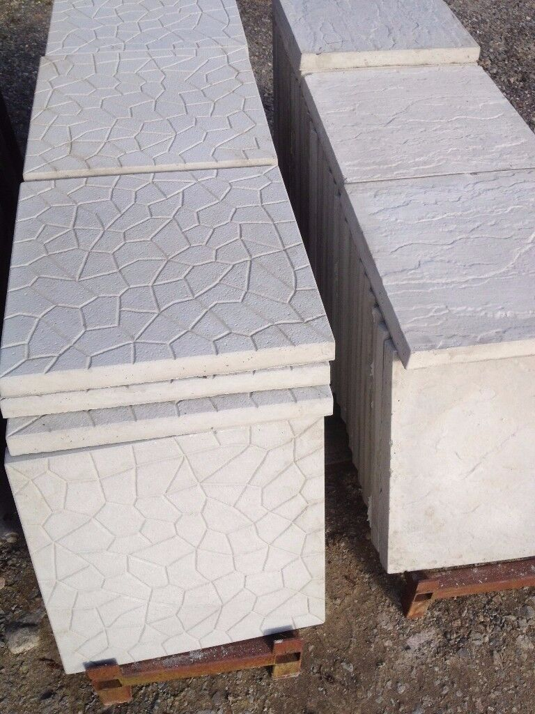 Large quantity of patio slabs to clear can deliver