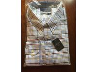 Charles Tyrwhitt Oxford Weave Checked Shirt - XL - never worn - excellent condition