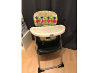 Chicco high chair used