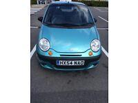 Daewoo Matiz 2004 Ice Blue Metallic Car- low mileage. Ideal first car!