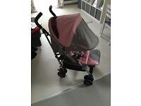 Silvercross pop vintage pink
