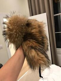 Fur hat - real racoon
