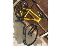 Pinnacle Lithium Mens Mountain Bike Lockout forks NOT CARRERA