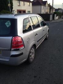 Vauxhall Zafira 1.9 CDTI Diesel 7 seats for sale only 75500 miles! 1 year MOT