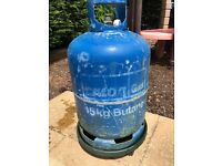 15kg butane gas bottle