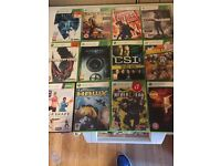 XBOX 360 CONSOL AND 22 GAMES FOR SALE (reduced)