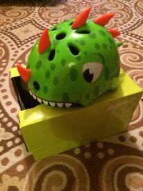Child's Dinosaur Cycle Helmet