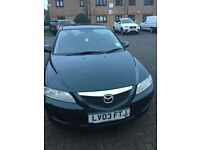 mazda 6 ts2 year 2003 manual drive superb clean inside nice car electric sunroof£650 no silly offers