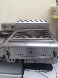 Commercial Parry gas chargrill ..07412780553