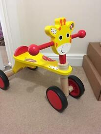 Wooden Giraffe Bike