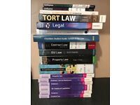Undergraduate LAW books for university students !!