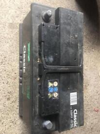 88 ah lucas car battery (charged/good working)