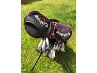 Nike vr golf clubs with Callaway driver/wood