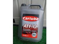Carlube ATF-U 4.55L Auto transmission fluid Fully Synthetic - New Sealed
