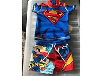 Boys swimming 2 piece NEXT 3-6 months excellent condition