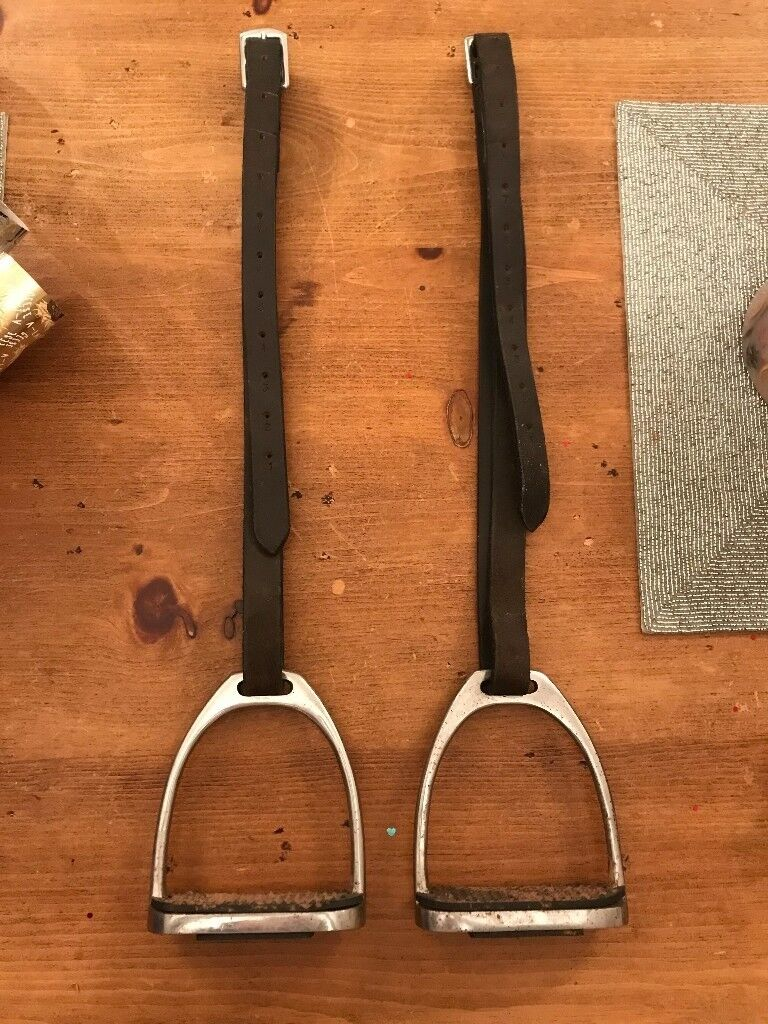 Jefferies Stirrup leathers and irons