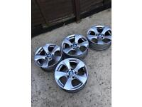 Genuine bmw alloy wheels E90
