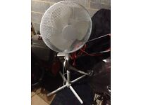 Fully Assembled Standing Fan