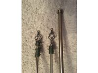 Dunelm Curtain Poles For Sale - Excellent Condition