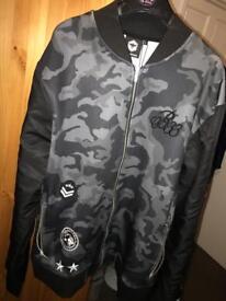 Camo jacket, size Large