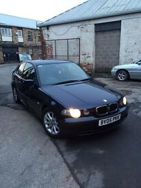 Bmw 316 compact spares or repairs