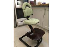 Svan Wood High Chair (Espresso Colour)