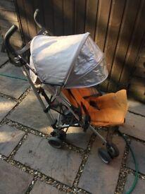 UPPAbaby G-LUXE Stroller Umbrella Single Seat Stroller Orange