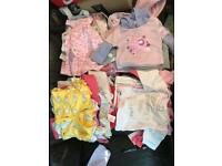 3-6 months baby girls clothes ... nearly 60 items