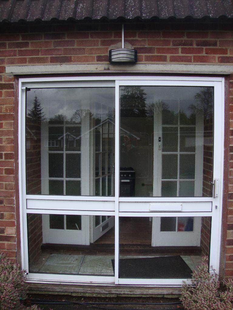 Sliding Patio Doors With Letterbox Ideal For Porch 1965cm X H 205cm