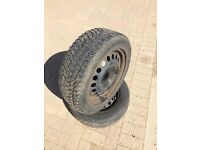 Used X1 175/65/14 tyre good tread on Vauxhall 4 stud rime ('