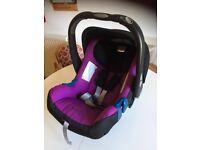 Britax Babysafe Plus II Car Seat with adaptors