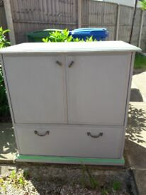 Shabby Chic Television Cabinet.