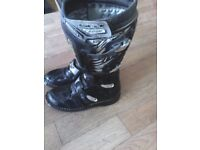 Motocross, motox, bike boots x2 pair