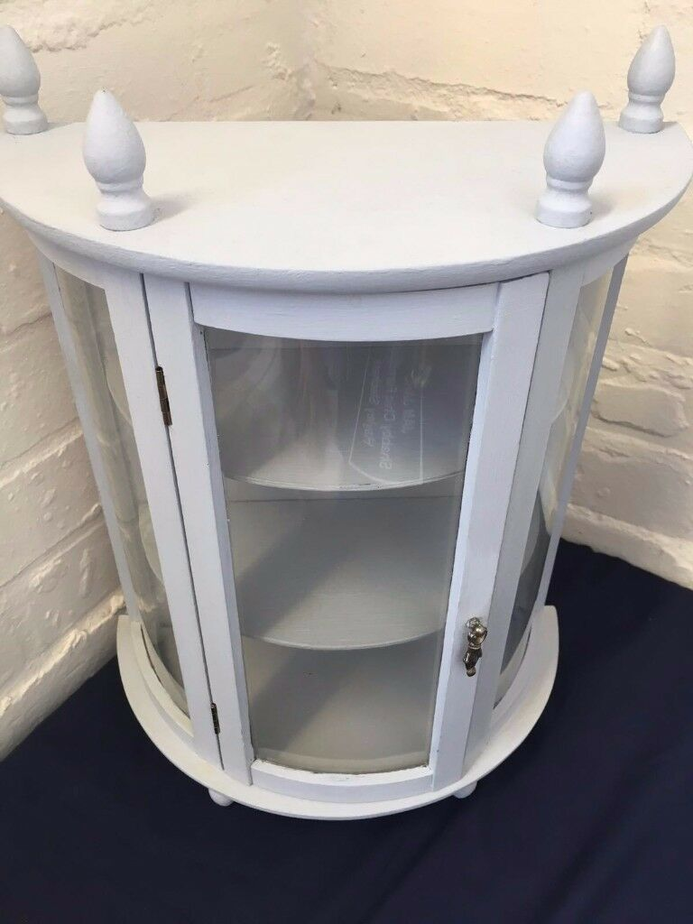 Shabby Chic Small Grey Cabinet
