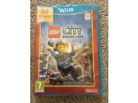 Nintendo Wii U Lego City Undercover New