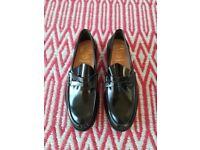 Men's Church's Tunbridge Loafers Shoes Black Leather UK 10 New