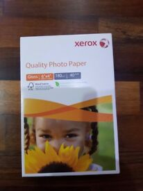 Quality XEROX GLOSS Photo Paper 2 x 40sheets 6x4 (100x150mm) 180gm2