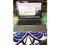 "MacBook Retina 13.3"" 2.8ghz intel Core i5, 8GB ram, 256GB SSD, intel iRis graphics, Apple warranty"