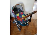 Mamas and Papas Urbo 2 Atticus signature addition pushchair with carrycot