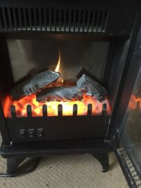 Log effect electric fire