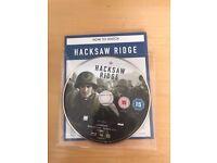 Hacksaw ridge , bluray & dd , brand new ! Price stands , no offers !