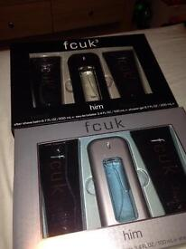 Fcuk aftershave sets