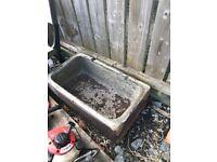 Antique trough
